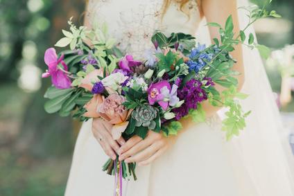 Luxury Destination Wedding Bouquet