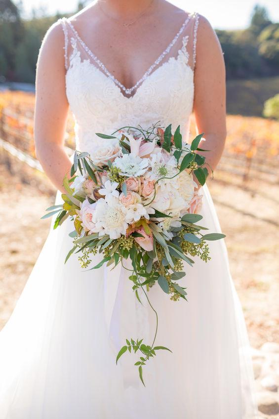 NM Bride with Handtie Flower Bouquet