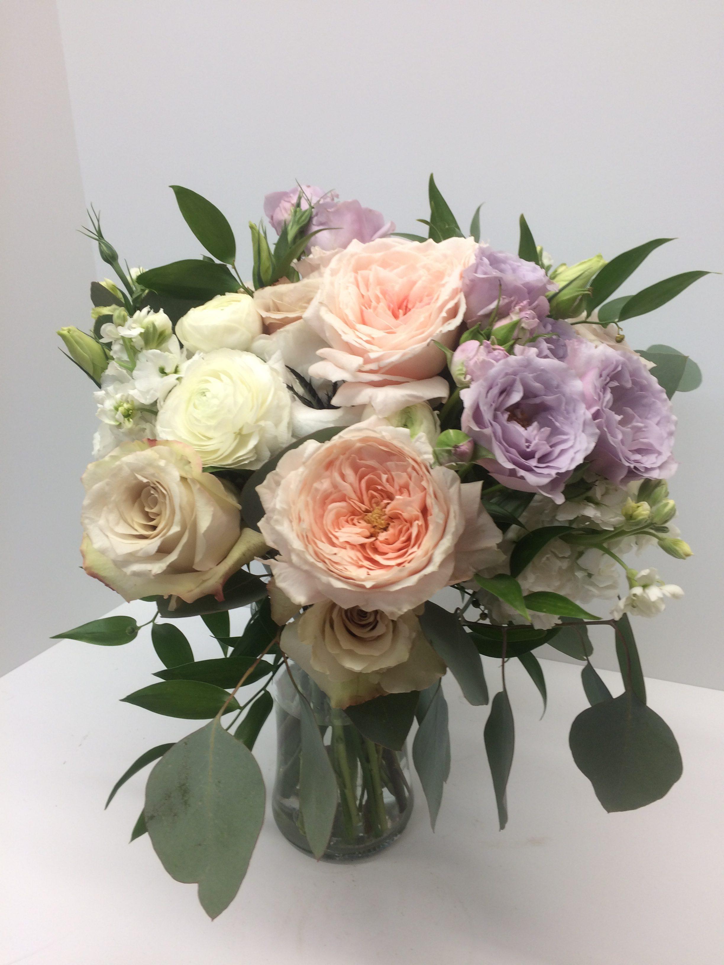 Mauve Bridal Bouquet New Mexico Flower Company