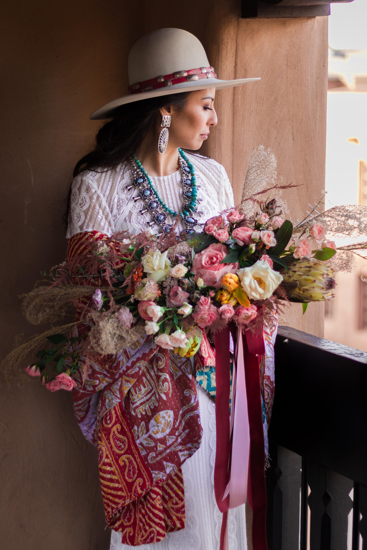 New Mexico Boho Bride Style