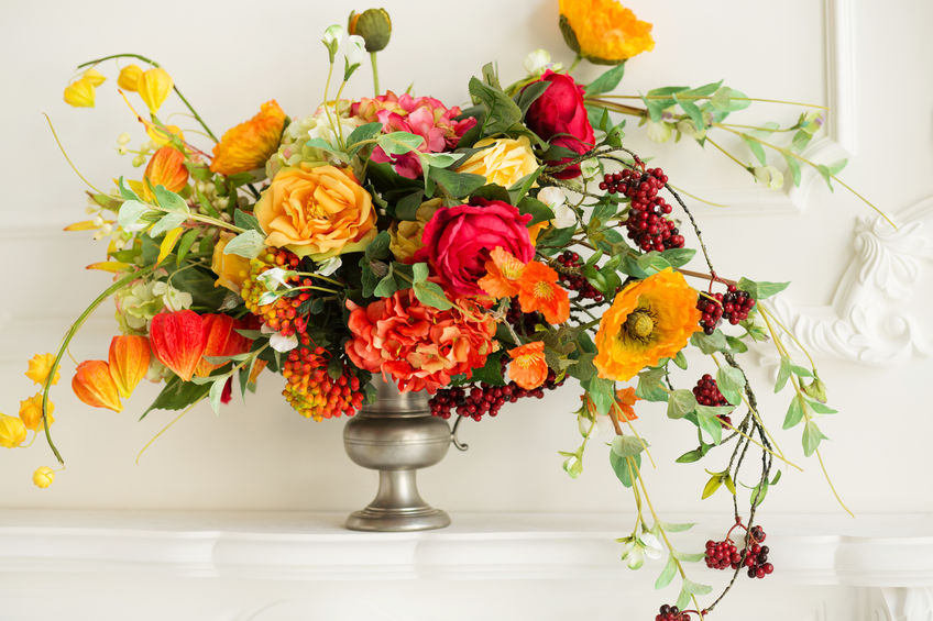 Fall Autumn Floral Arrangement