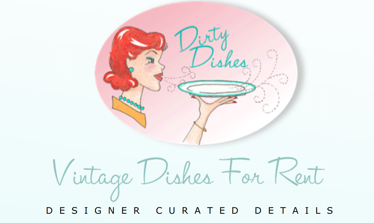 Vintage Dish Rentals for Special Events
