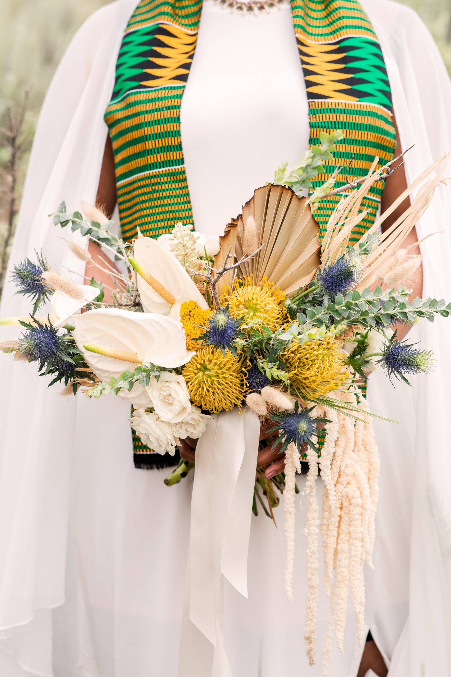New Mexico Elopement Wedding Flowers