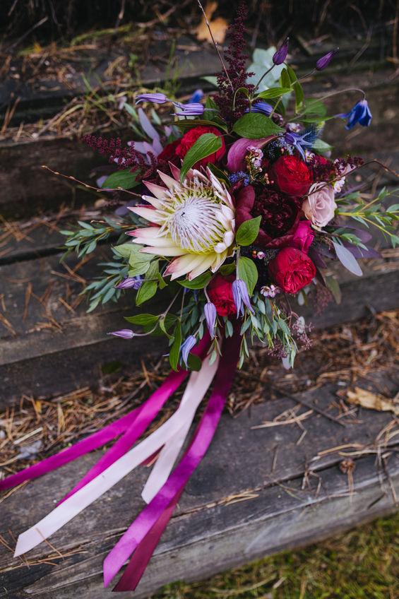 Santa Fe Florist Protea Bouquet