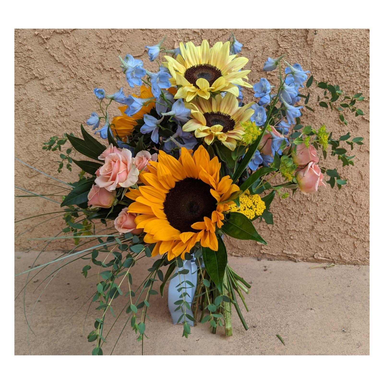 Sunflower Wedding Bouquet NM 87004